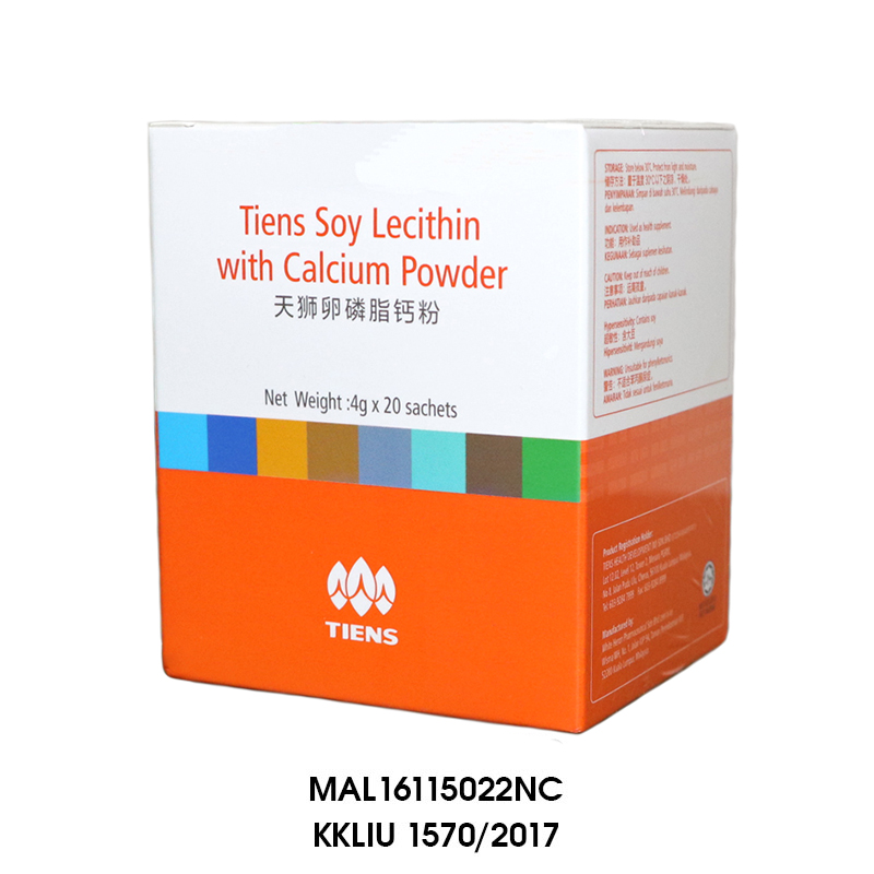 SOY LECITHIN WITH CALCIUM POWDER